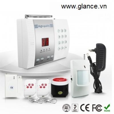 Báo động không dây dùng line PSTN GLANCE TEL99EG