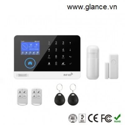 Báo động chống trộm dùng sim GLANCE WG103 Smart