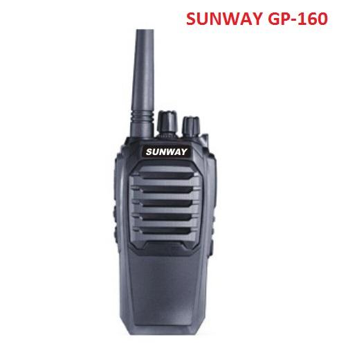 Bộ đàm cầm tay SUNWAY GP160 (8W)