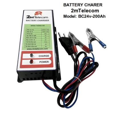 Sạc ắc quy tự động 2mTelecom BC24V-200Ah