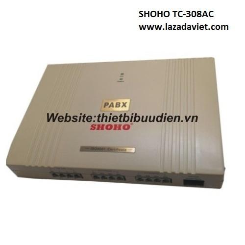 Tổng đài điện thoại SHOHO TC308AC